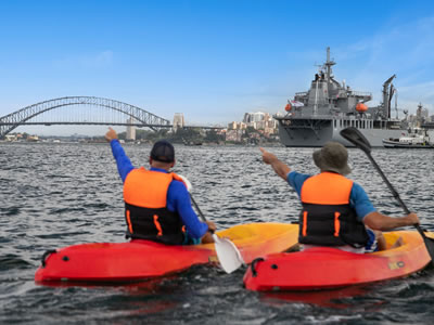 Go Sea Kayak Sydney harbour kayak tour