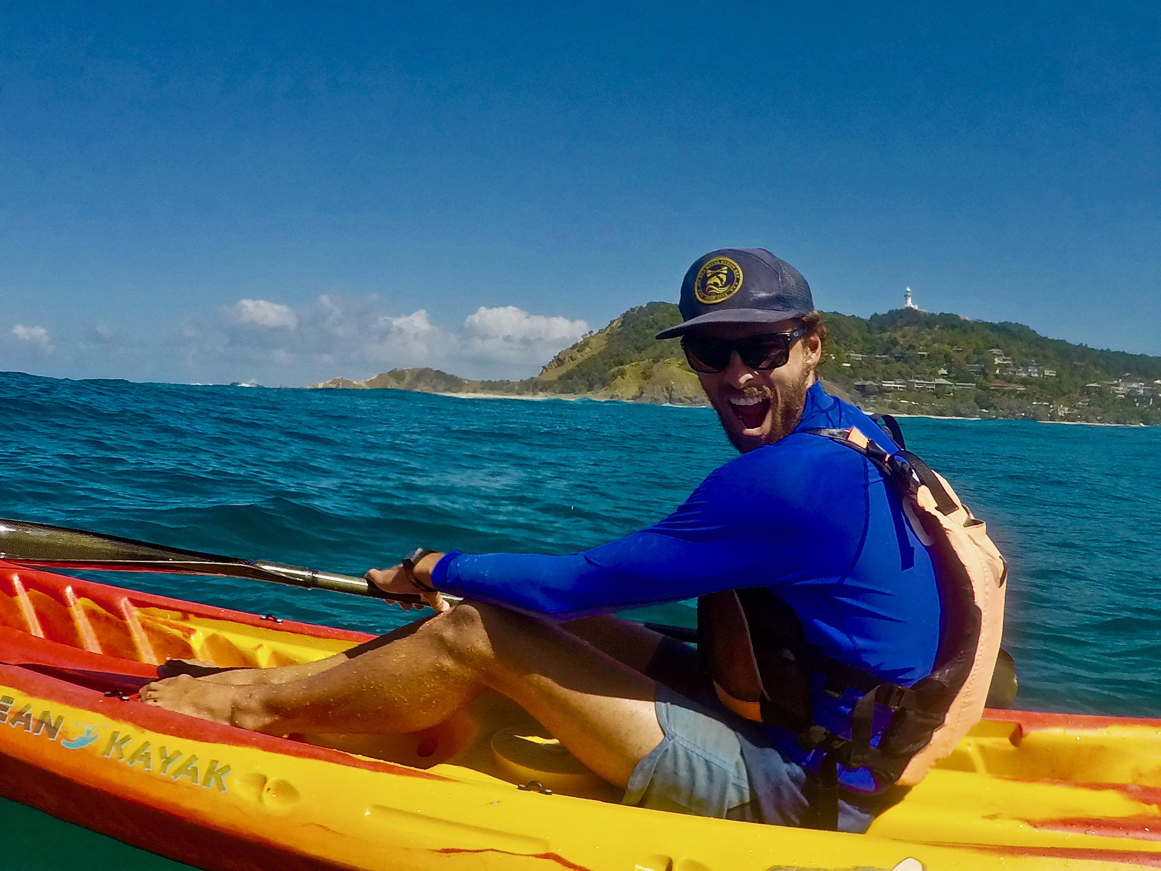 Go Sea Kayak Byron Bay Staff David